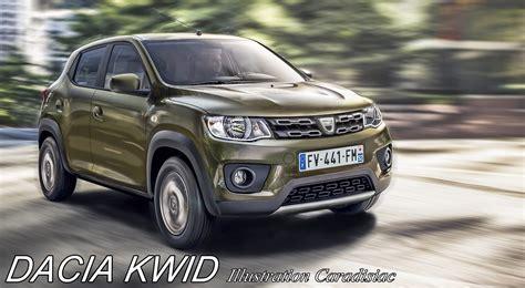 Dacia Kwid 2019 by Une Dacia Kwid Pour 2018