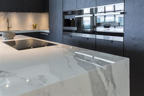 Marble Kitchen Backsplash by Neolith Neolith The Main Material In A Luxurious