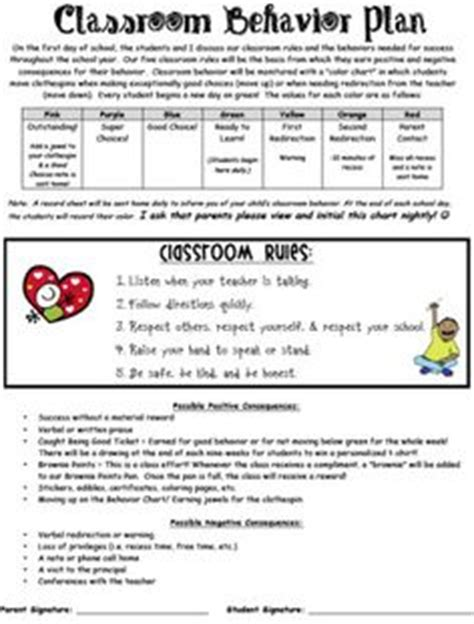 classroom behavior management plan template class reward chart interactive white board ideas student charts and