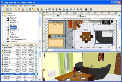 3d home design software free for win7 sweet home 3d v5 4 open source afterdawn