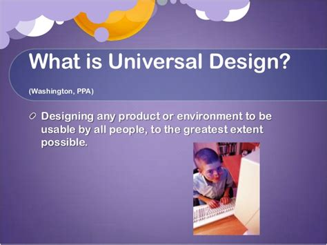 universal design for learning powerpoint universal design ppt