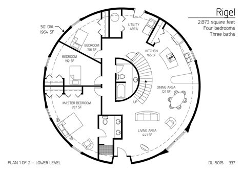 dome floor plans floor plan dl 5015 monolithic dome institute