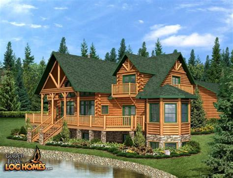 house plans for builders golden eagle log and timber homes floor plan details
