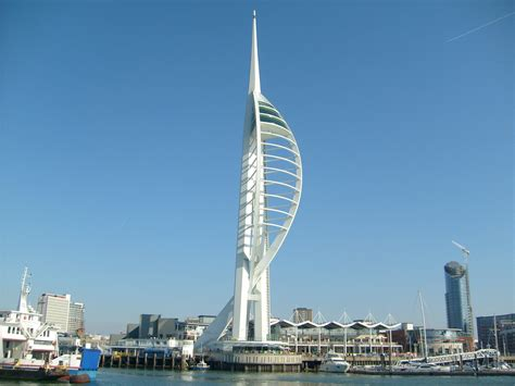 pictures of tower spinnaker tower portsmouth united kingdom