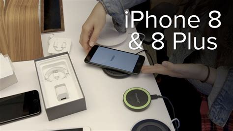 apple iphone 8 8 plus unboxing and wireless charging tests