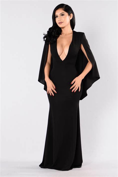 Black Lovely Dress 18717 addicted to dress black