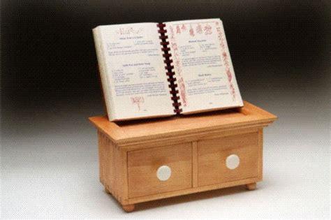recipe box book holder finewoodworking