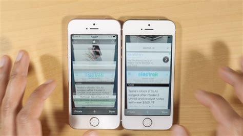 iphone 5s vs เท ยบความเร ว iphone 5s vs iphone se ท ม ram 2gb