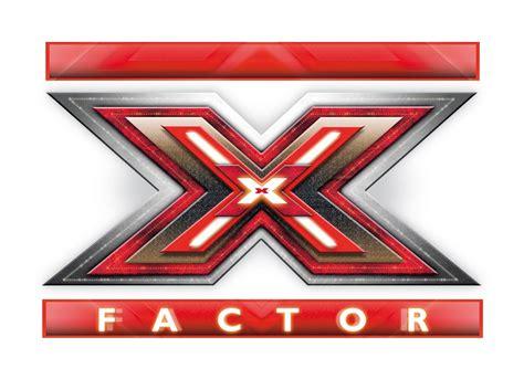 a logo with a x logo x factor
