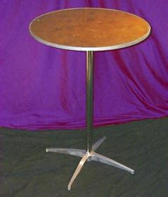 24 inch round coctail table rental nyc – shapiro