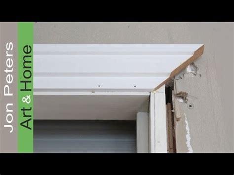 Install Door Trim by How To Install Window Door Trim Casing Made Simple