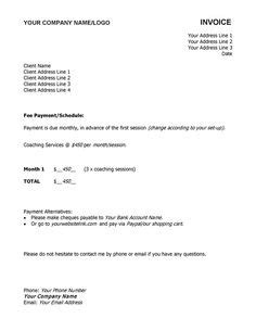 Invoice Sample Template Pinterest Invoice Sample And