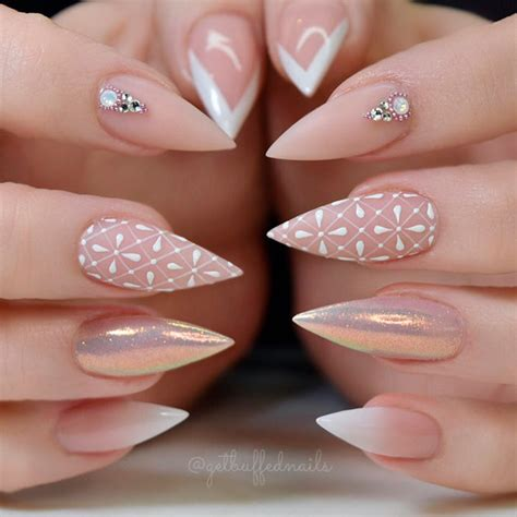 Nail Patterns And Designs by Create Fabulous Stiletto Nails Designs