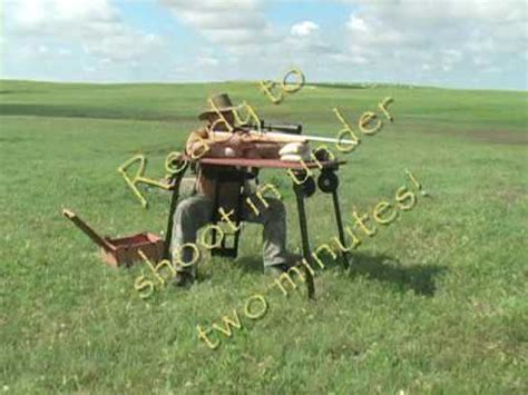 homemade portable shooting bench share portable shooting bench plans deasining woodworking