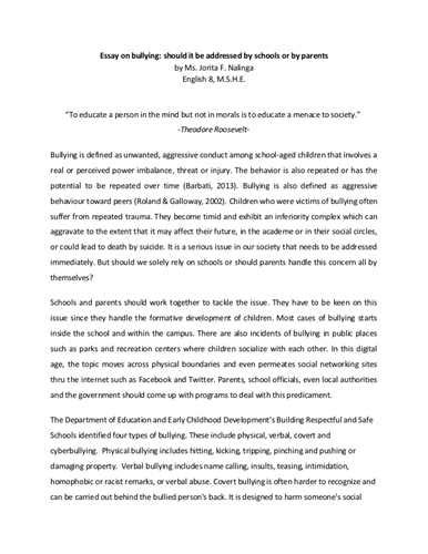 research paper about cyber bullying a research paper on bullying scribd