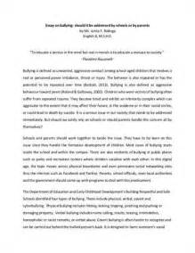 Cyber Bullying Research Paper Topics by A Research Paper On Bullying Scribd