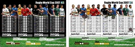 printable version of rugby world cup fixtures unofficial england rugby union rugby world cup 2007