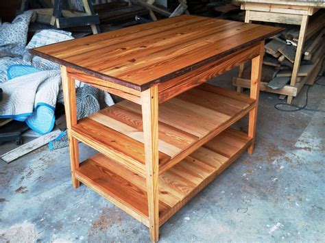 kitchen island made from reclaimed wood shelf kitchen island made from reclaimed wood by