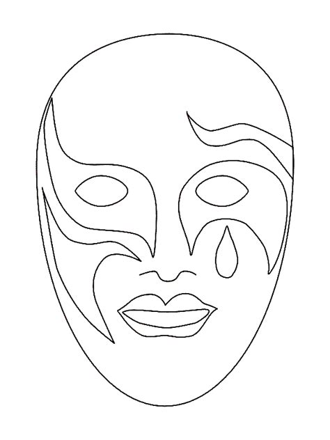 African Mask Printable Coloring Pages Coloring Pages Masks Coloring Pages