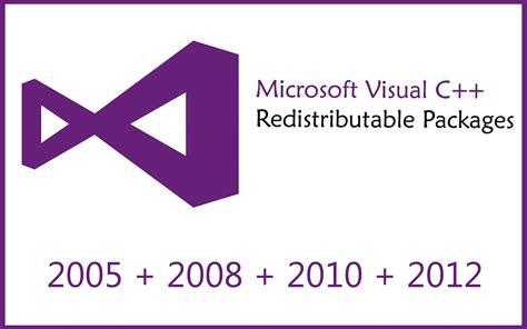 Visual C visual c 2013 redistributable package free