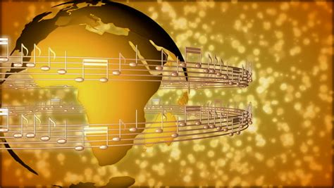 wallpaper gold music musical notes background stock footage video shutterstock