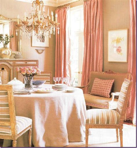 Pink And Beige Curtains Decor Luster Interiors Blush