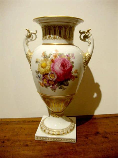 Antique Porcelain Vase by Antique Kpm Berlin Porcelain Vase Of Trophy Form For Sale