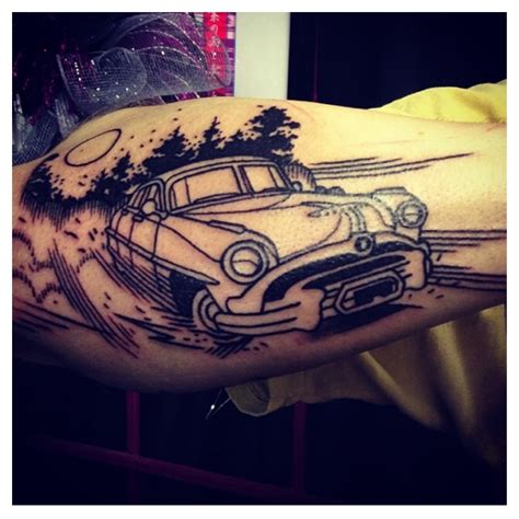 hudson tattoo fyeahtattoos hudson hornet by nic rummel at brut