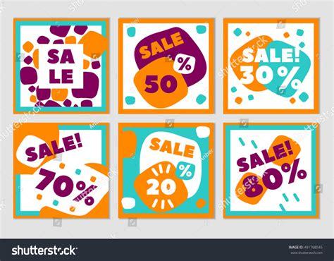 Sale Mainan Anak Trendy Set set creative trendy sale stock vector 491768545
