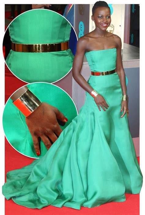 Lupita Nyong'o green dress: How to copy her BAFTA style   Style   Life & Style   Express.co.uk