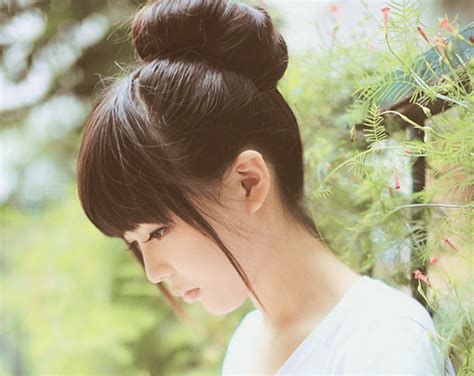 asian hairstyles buns hairstyles yuu
