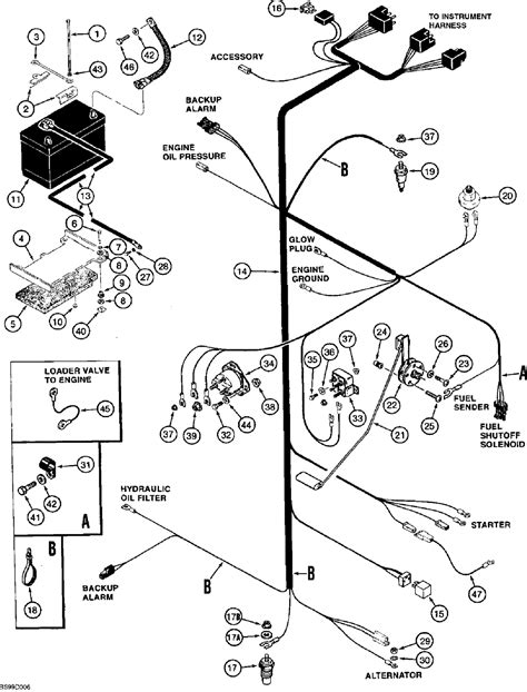 743 bobcat wiring diagram alternator 743 get free image