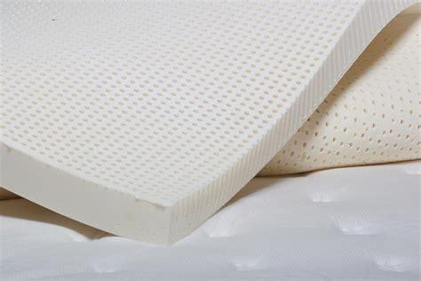 latex bed topper dunlop latex mattress topper foamsource
