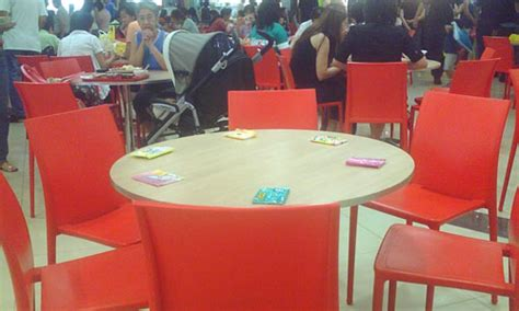 tissue paper chope seats only tissue packets bought from nea licensed peddlers can