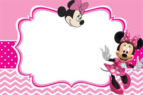 Minnie Mouse Invitation Card