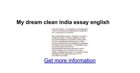 Clean India Essay For by My Home Essay In Marathi Docoments Ojazlink