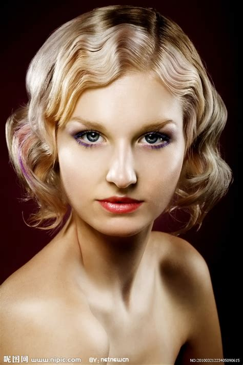 1940s hair styles for medium length hair 人物肖像摄影摄影图 人物摄影 人物图库 摄影图库 昵图网nipic com