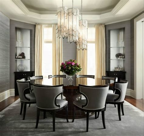 Dining room ideas with round tables