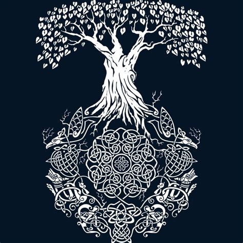 the 25 best ideas about yggdrasil tattoo on pinterest