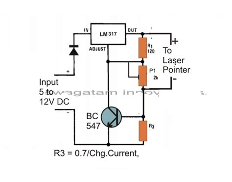 connect laser diode to driver laser diode driver circuit current controlled