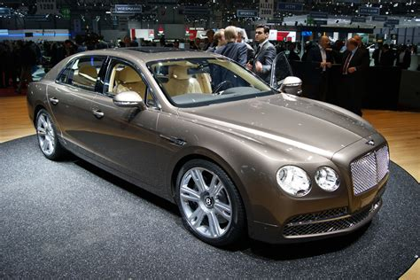 how much does a bentley genesis cost bentley continental flying spur revealed auto express