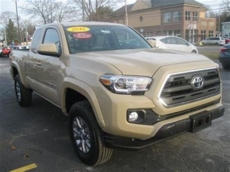 Toyota Tro Certified Pre Owned 2016 Toyota Tacoma Tro 4x4 Trd