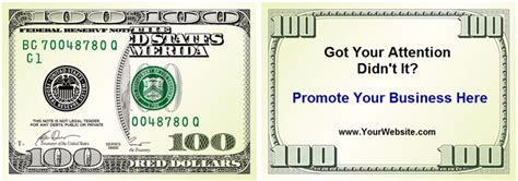 100 dollar bill drop card template drop card marketing order drop cards sizzle cards and
