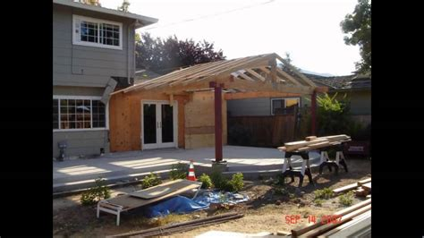 Rear Patio Designs by Roof Patio Roof Designs Pergola Attached To Roof
