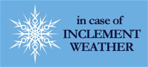 inclement weather | bone & joint specialists of winchester