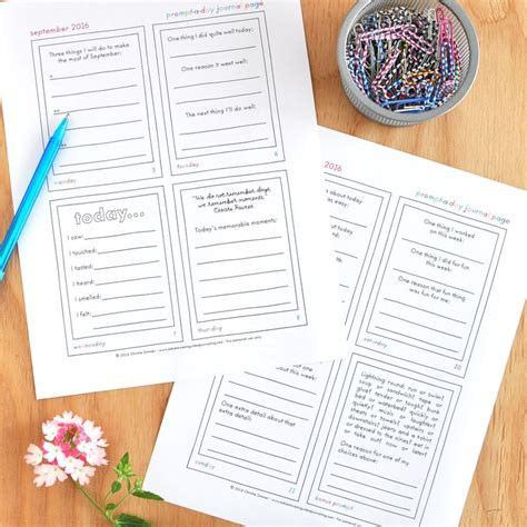 printable journal prompts 149 best my guided journals and printables images on pinterest