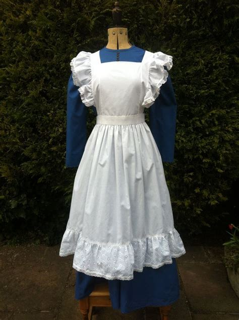 sewing pattern for victorian apron victorian styled dress and apron ideal for stage and