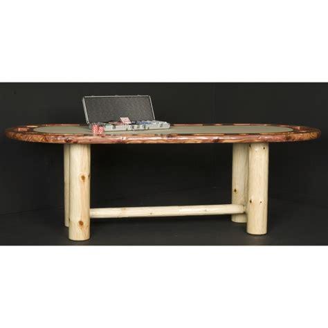 wildwood rustics red cedar half log bench wildwood rustics red cedar log dining table with extension leaves