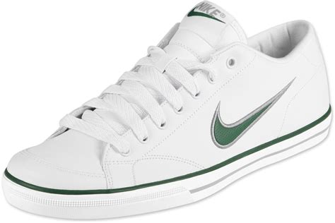 white nike shoes nike si shoes white green