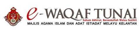 e waqaf tunai majlis agama islam kelantan